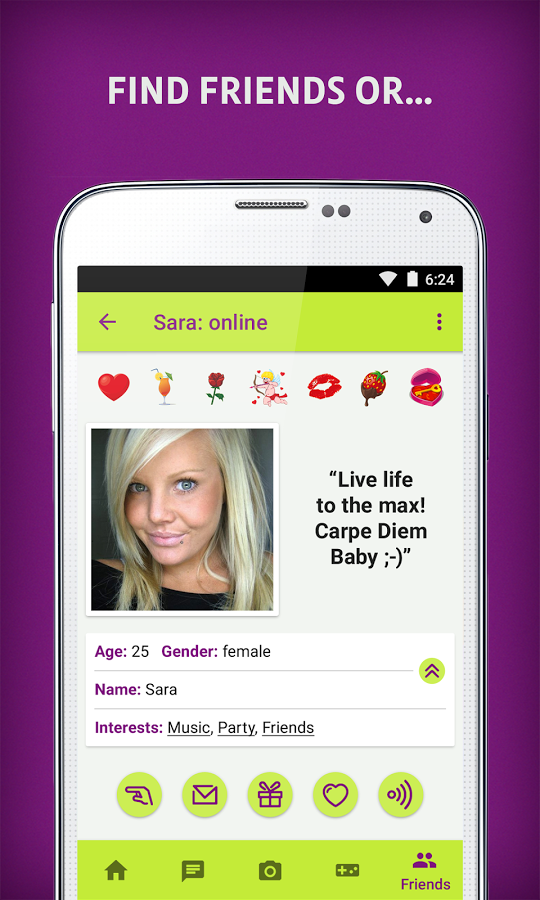 singles and dating love chat app